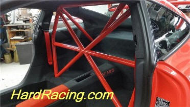 RSS Suspension X Cross harness Roll Bar 911 GT3 RS