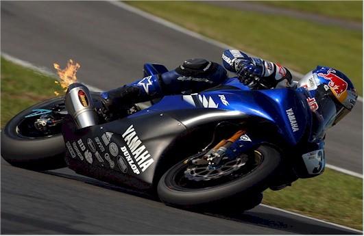 R Race on 2007 Yamaha R6 Power Commander