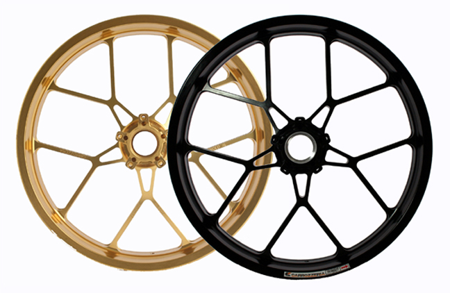 Carrozzeria Motorcycle Wheels Carrozzeria Forged Magnesium