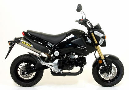 Honda Grom  MSX 125 Arrow Exhaust