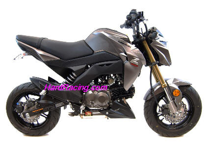 Competition Werkes Stainless Exhaust Kawasaki Z125