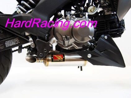 Competition Werkes Exhaust Kawasaki Z125