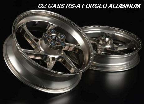 OZ GASS  RS-A FORGED ALUMINUM 6 Spoke