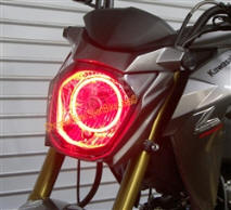 SBL Pro Color Changing LED Halo Kit Kawasaki Z125