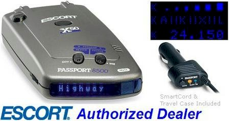 Escort passport 8500 x50 smartcord live
