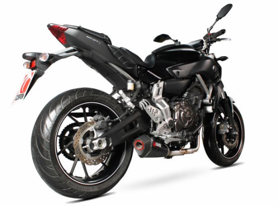 Scorpion exhaust Yamaha Mt07 Tracer  2014-17