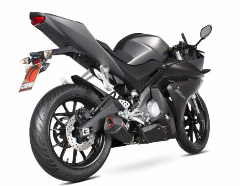 Scorpion Exhaust Yamaha R125 2014-2017