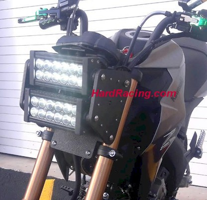z125 dual row led light