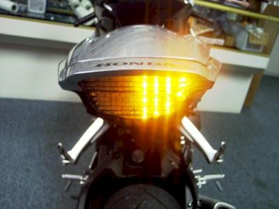 Clear Tail Lights - HONDA