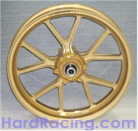 Marchesini 10 spoke wheel