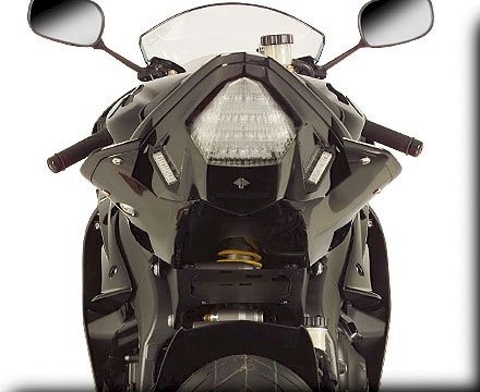 08 09 R6 Undertail It Make The Tail Section Look Solid Until You Turn Light On Then Taillight Is Visible Very Stealth And Trick Looking In