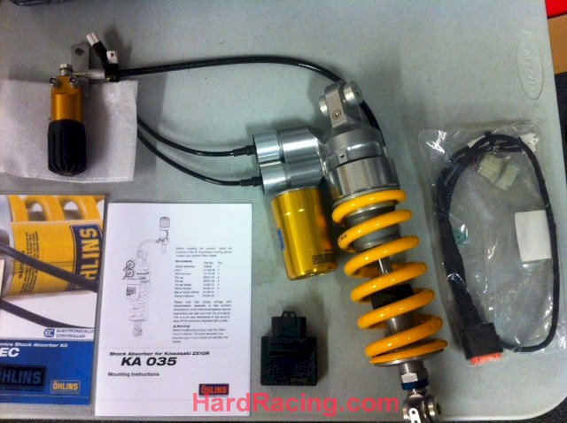 Ohlins Suspension - Hard Racing - Lowest Prices