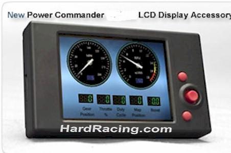 Dyno Jet Power Commander Lcd Display Multifunction Hub